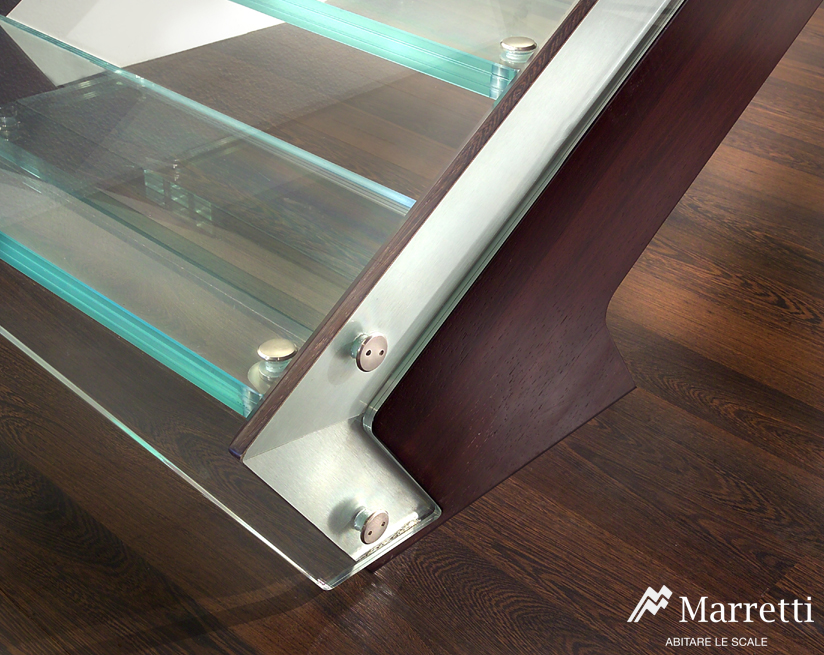 Marretti Staircase Glass Tread Stairs