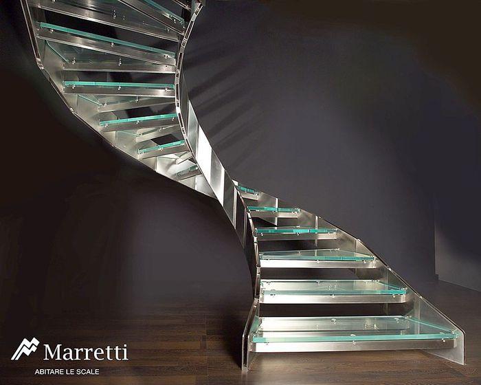 Marretti knightsbridge helical staircase by marretti stairs for Maretti scale