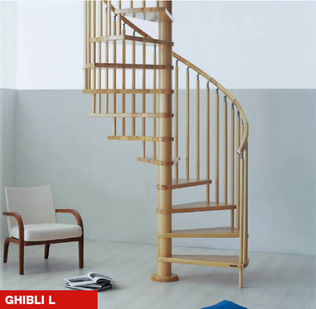 The Ghibli L With Wooden Spindles